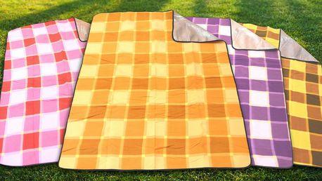 Piknikové deky s izolační aluminiovou vrstvou