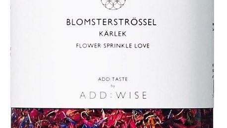 ADD:WISE Jedlé květy chrpy a růže 35gr, růžová barva, plast