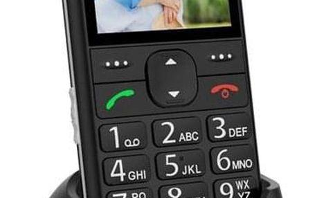 Mobilní telefon CPA Halo 11 Senior černý (TELMY1011BK)
