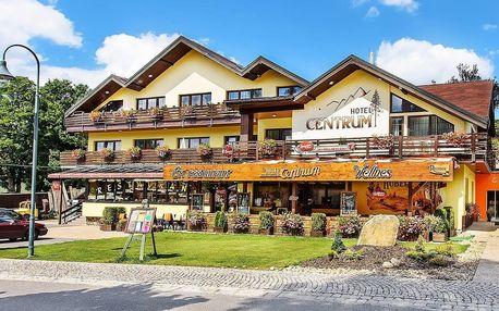 Hotel Centrum Harrachov s wellness a polopenzí