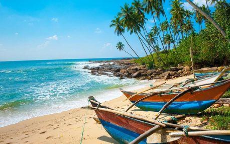 Srí Lanka, Wadduwa, letecky na 9 dní snídaně