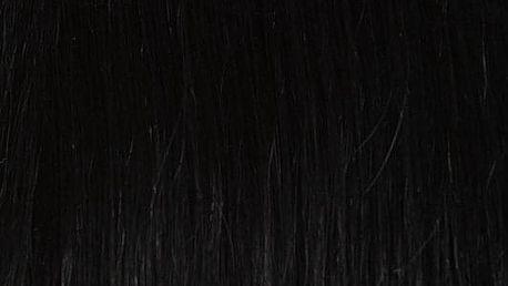 TAPE IN vlasy 20 pásků - 40 cm uhlově černá