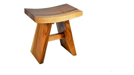 DIVERO 4260 Stolička z masivního dřeva