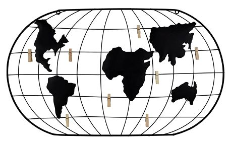 Dekorace Nástěnná World