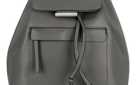 MARIAM Dámský městský batoh - stříbrná klopa