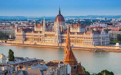 Budapešť + Bratislava + Vídeň - 4 dny s dopravou, ubytováním a snídaní