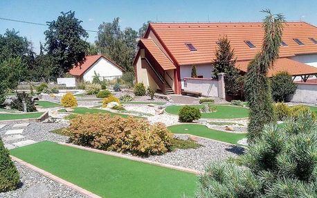 Pobyt na rozhraní Čech a Moravy i s minigolfem