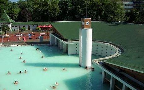 Maďarsko - Harkány - termální lázně - 7 dní s ubytováním, dopravou a stravou
