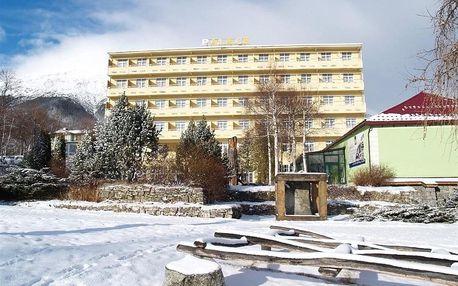 Slovensko - Vysoké Tatry na 6 dní, polopenze s dopravou vlastní