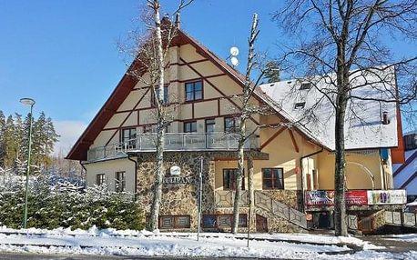 Vysoké Tatry 1 km od skiareálu v Hotelu Tulipán *** s wellness a polopenzí