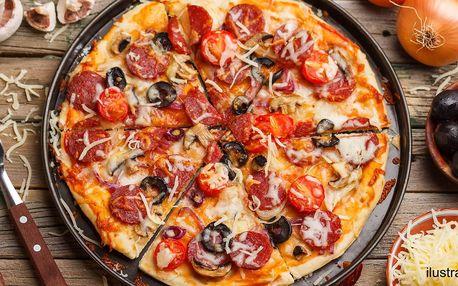 Rodinná pizza - osobní vyzvednutí na prodejně