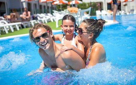 Itálie: rodinná dovolená u moře na 8 dní