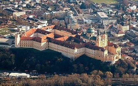 Rakousko - Údolí Wachau, Melk, Krems, Tulln - 3 dny poznání s ubytováním a snídaní