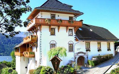 Rakousko v romantickém Hotelu Staudacher Hof *** u jezera se snídaněmi