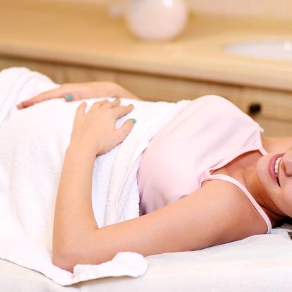 Těhotenská masáž pro nastávající maminky