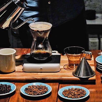 Vše o kávě v teoretickém i praktickém kurzu