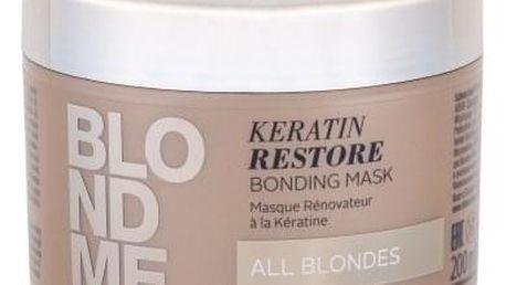 Schwarzkopf Blond Me Keratin Restore 200 ml regenerační maska pro blond vlasy pro ženy