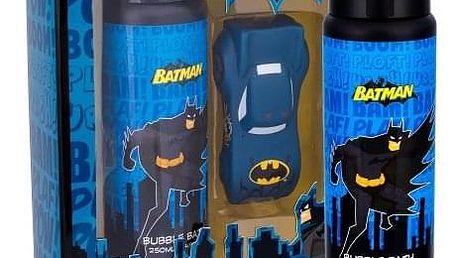 DC Comics Batman dárková kazeta pro děti pěna do koupele 250 ml + vodní pistole 1 ks