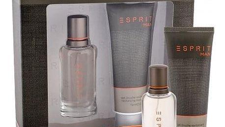 Esprit Esprit Man dárková kazeta pro muže toaletní voda 30 ml + sprchový gel 75 ml