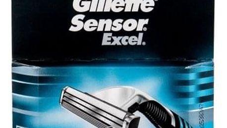 Gillette Sensor Excel 5 ks náhradní břit pro muže