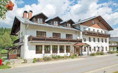 Šumava v hotelu v Bavorské Rudě se saunou a polopenzí
