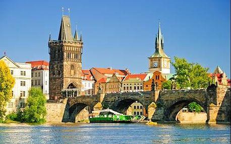 Skvělé atrakce Prahy si vychutnáte při pobytu v centru ve 4* hotelu Seifert