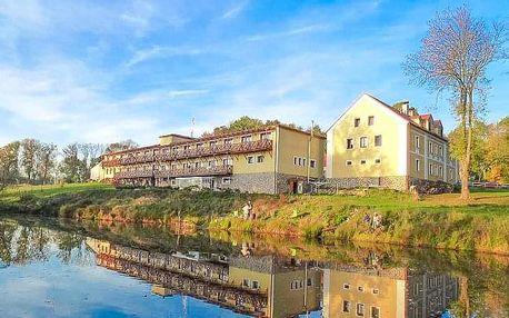 Pobyt u Františkových Lázní v Resortu Stein *** s wellness, koupelí a polopenzí