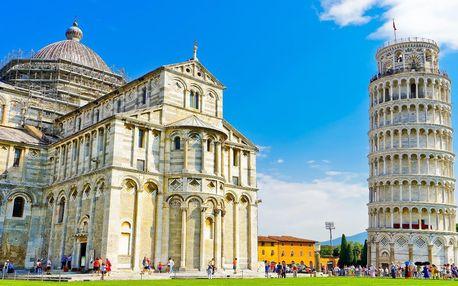 Poznejte Toskánsko: Pisa, Cinque Terre na 2 noci