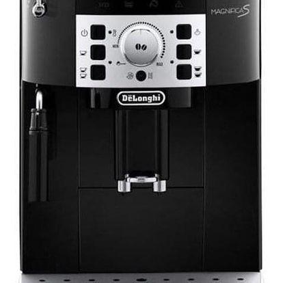 Espresso DeLonghi Magnifica ECAM22.110B černé + dárky Příslušenství DeLonghi Skleničky espresso + Káva zrnková DeLonghi Kimbo Classic 250g v hodnotě 358 Kč + DOPRAVA ZDARMA