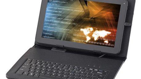 """Pouzdro na tablet s klávesnicí GoGEN univerzal 10,1"""", polohovací černé (GOGTA10KEYBOARD)"""