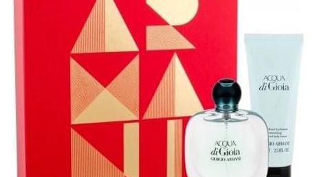 Giorgio Armani Acqua di Gioia dárková kazeta pro ženy parfémovaná voda 30 ml + tělové mléko 75 ml