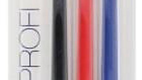 Swissdent Colours Soft Medium 3 ks středně měkký kartáček na zuby unisex Black, Red, Blue