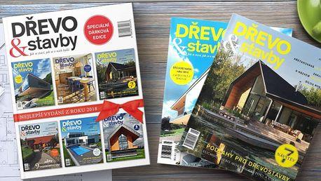 Speciální brožovaná edice časopisu Dřevo&Stavby