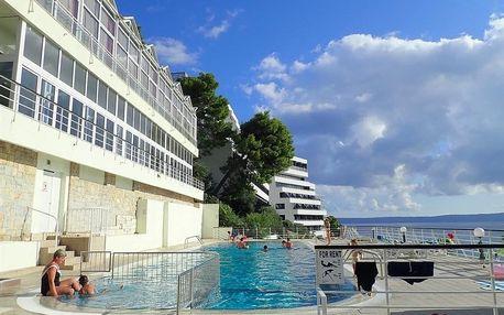 Chorvatsko - Podgora na 8 dní, polopenze s dopravou vlastní, přímo na pláži