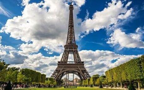 4-denní poznávací zájezd do Paříže v termínu 28 - 31.3.2019