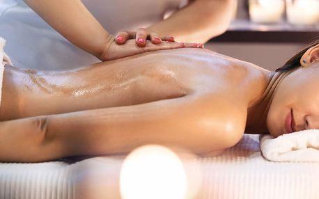 30 nebo 60minutová masáž dle vlastního výběru