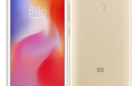 Mobilní telefon Xiaomi Redmi 6 Dual SIM 3GB/32GB (22137) zlatý