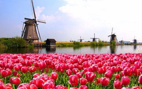 4denní poznávací výlet z Prahy do Holandska pro 1 osobu