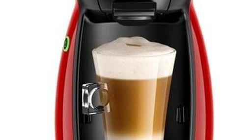 Espresso Krups NESCAFÉ Dolce Gusto Piccolo KP1006 červené + dárek Kapsle pro espressa NESCAFÉ Dolce Gusto® Latte Macchiato kávové kapsle 16 ks v hodnotě 109 Kč