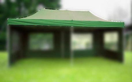 Garthen Náhradní střecha k nůžkovému stanu 3 x 6 m, zelená D06315