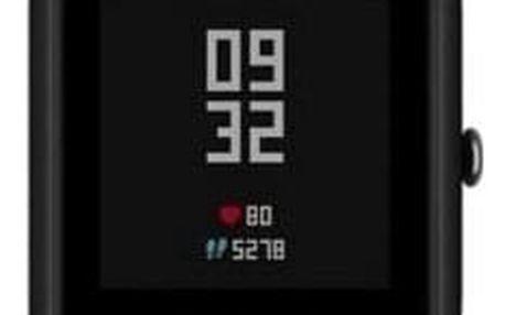 Chytré hodinky Xiaomi Amazfit Bip černý (17166)