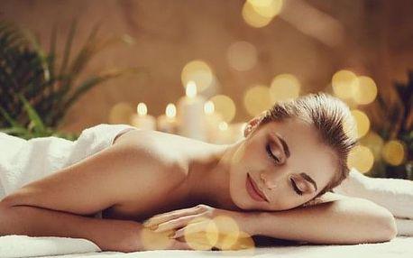Havajská či relaxační masáž s možností masáže nohou a hlavy