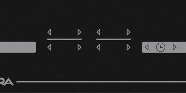Sklokeramická varná deska Mora VDST 641 C černá2