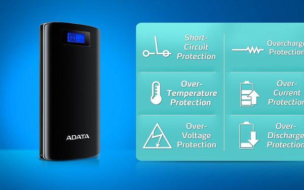 Powerbank ADATA P20000D 20000mAh (AP20000D-DGT-5V-CBK) černá4