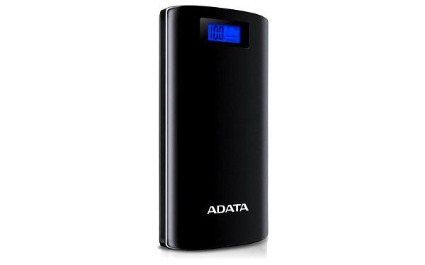 Powerbank ADATA P20000D 20000mAh černá (AP20000D-DGT-5V-CBK)