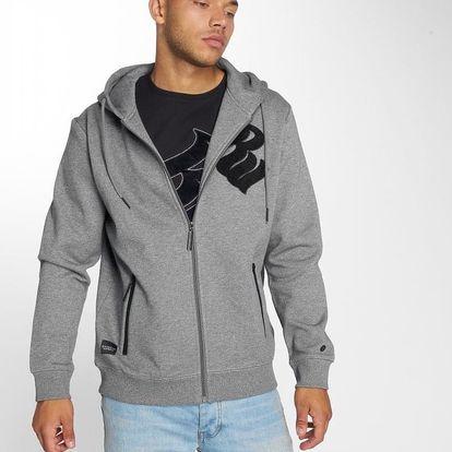 Rocawear / Zip Hoodie Logo in grey L