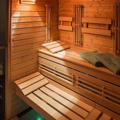 Prohřejte se: 90 minut privátní sauny pro dva