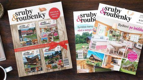 Speciální brožovaná edice časopisu sruby&roubenky