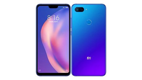 Xiaomi Mi 8 Lite 6GB/128GB modrý (22145)