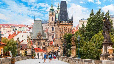 2–3 dny v Praze pro 2: snídaně a poukaz na večeři